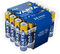 Varta 4903121124 Longlife Power 24 AAA (Clear Value Pack) baterije, 24