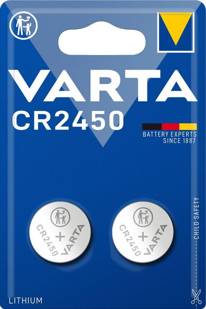 Varta CR 2450 2-pack 6450101402