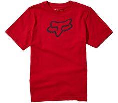 Fox Dětské triko Legacy Ss Tee - Chilli vel. YM