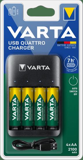 Varta VALUE USB QUATTRO CHARGER 57652101451 töltő