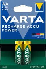 Varta Nabíjecí baterie Power 2 AA 2100 mAh R2U 56706101402