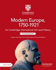 Cambridge International AS Level History Modern Europe, 1750-1921 Coursebook (Kniha)