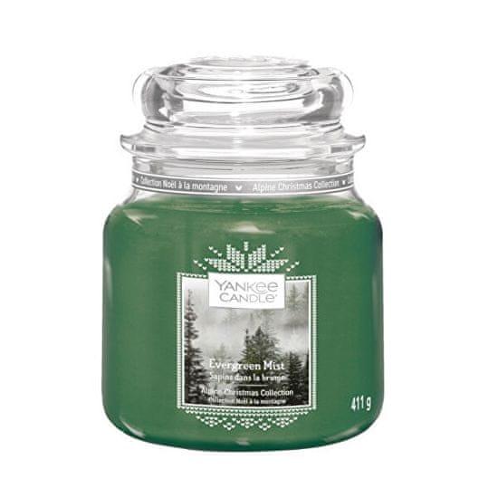 Yankee Candle Świeca zapachowa Classic średnia Evergreen Mist 411 g