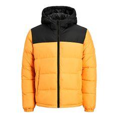 Jack&Jones Moška jakna JJPAUL 12189972 Gold in Orange (Velikost XXL)