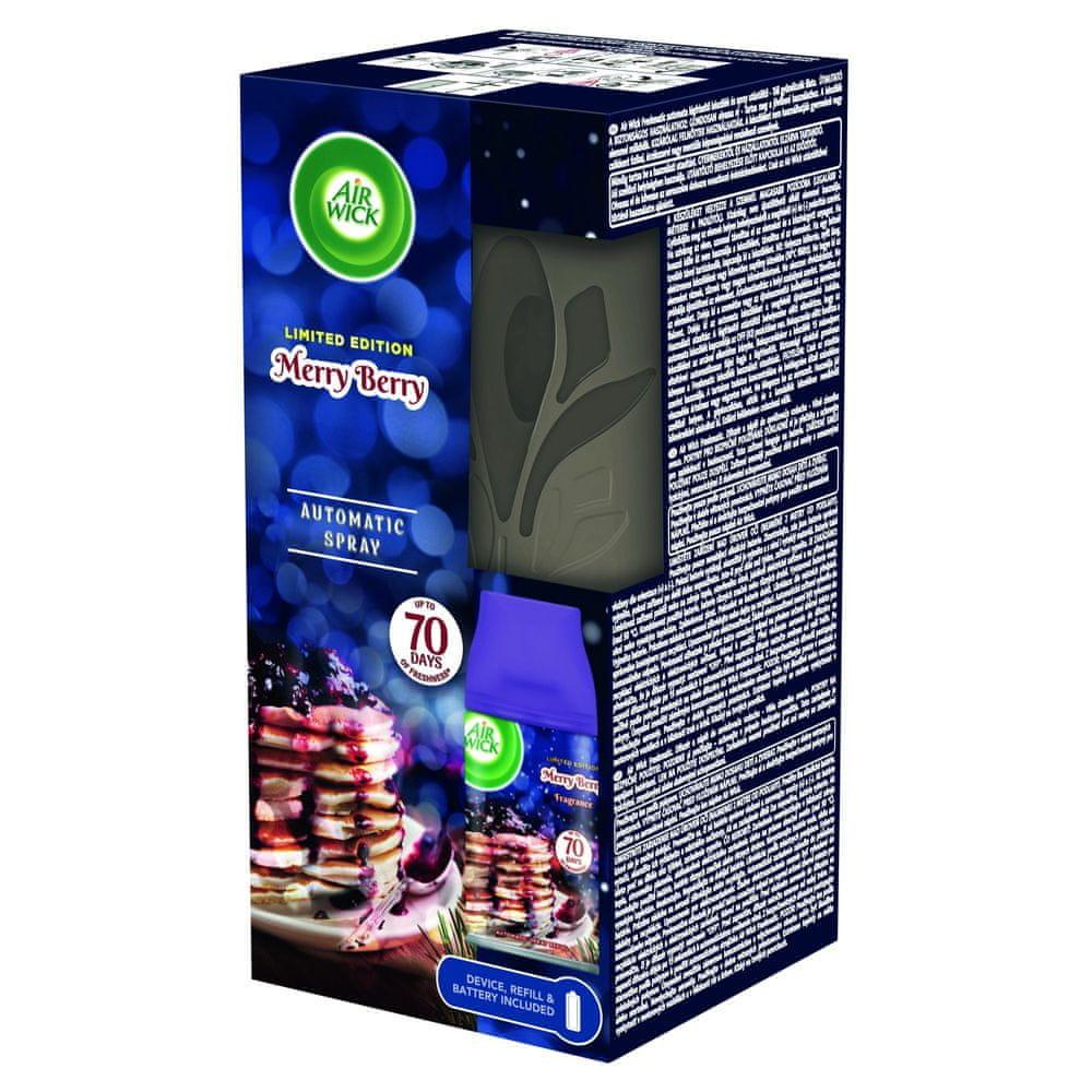 Air wick Freshmatic Difuzér a náplň do osvěžovače vzduchu - Vůně zimního ovoce 250 ml