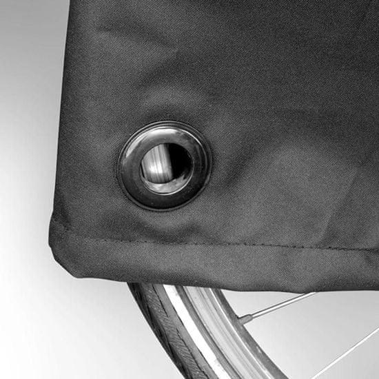 CarPoint Plachta ochranná na 1 jízdní kolo / elektrokolo proti znečištění - polyester / 200x72x98cm