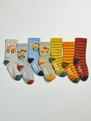 Gap Dětské vysoké ponožky, 7 párů 12-24M