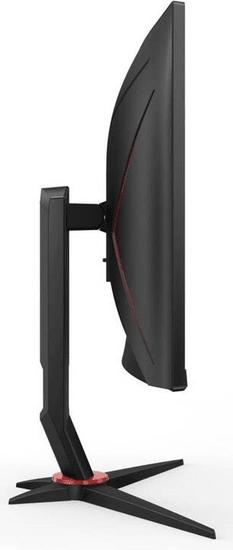 AOC C24G2U/BK FHD VA monitor, ukrivljen