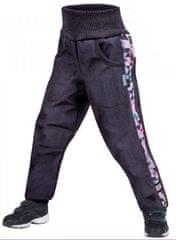 Unuo softshell hlače za dječake s flisom Street, 128/134, antracit