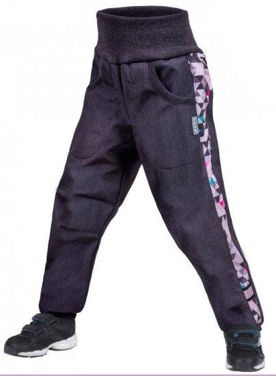 Unuo dětské softshellové kalhoty s fleecem Street