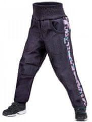 Unuo fantovske softshell hlače s flisom Street, 146 - 152, antracitne