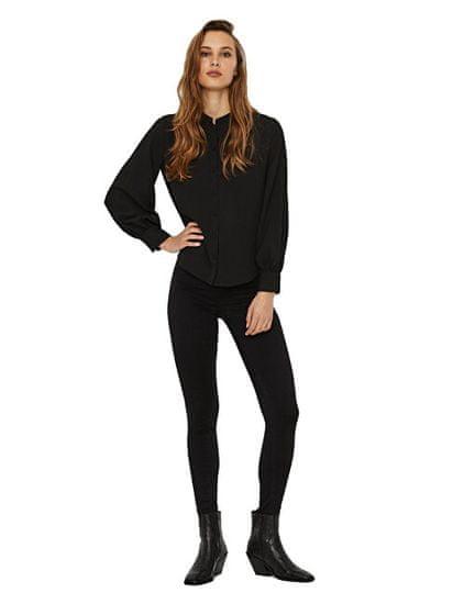Vero Moda Dámska košeľa VMAYA Regular Fit 10238445 Black