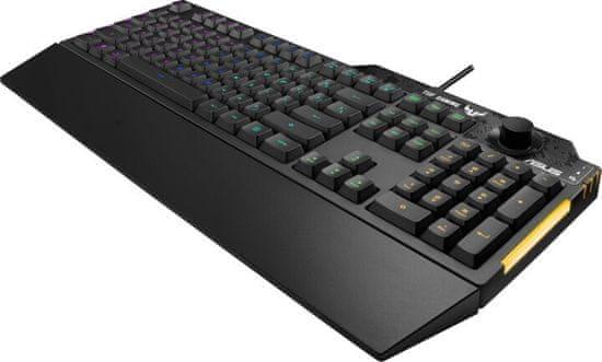 Asus TUF Gaming K1, CZ/SK (90MP01X0-BKZA00)