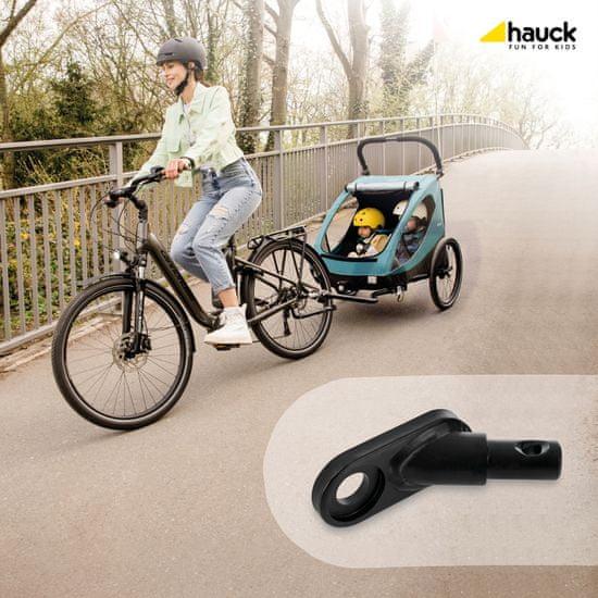 Hauck Bike Trailer Hitch black metal