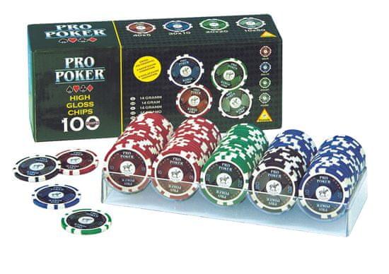 Piatnik Poker Chips 100 High Gloss
