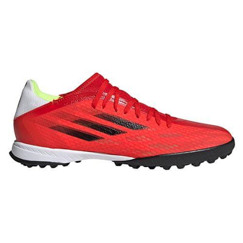 Adidas X SPEEDFLOW.3 TF, X SPEEDFLOW.3 TF | FY3310 | VÖRÖS / CBLACK / SOLRED | 9