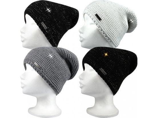 Fuski - Boma čepice Vivaro Barva: bílá/stříbrná, Velikost: uni