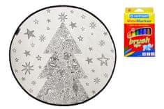 KOBEREC - OMALOVÁNKY - Nut Cracker 130x130 (průměr) kruh