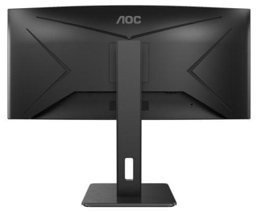 AOC CU34P2A VA WQHD monitor, ukrivljen
