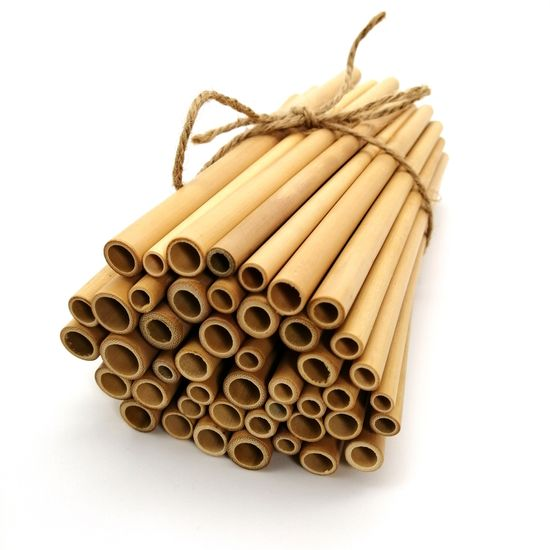 zKokosu Bambusová slamka 20cm