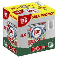 Jar Platinum Plus Kapsle Do Automatické Myčky Nádobí Vše V Jednom Regular, 136 Ks