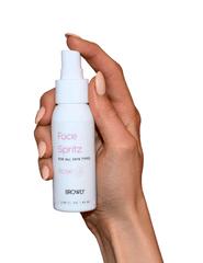 BROWLY Viacúčelový sprej na tvár Face Spritz Spray Rose + Vitamin C 60ml