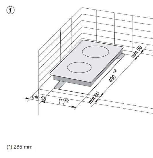Amica płyta ceramiczna DDS 3200 MR