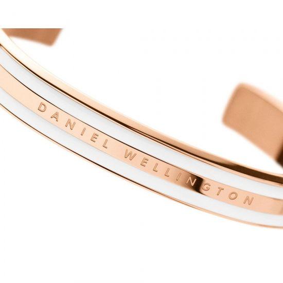 Daniel Wellington CLASSIC BRACELET WHITE - Rose Gold - large DW00400005