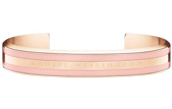 Daniel Wellington CLASSIC BRACELET WHITE - Rose Gold Dusty Gold - small DW00400010