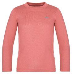 Loap dekliška termo majica Pillu, 122/128, lososova