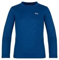 Loap fantovska termo majica Pillu, 122/128, temno modra