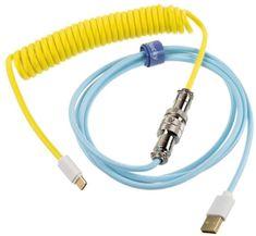 Premicord, USB-C/USB-A, 1,8m, Cotton Candy
