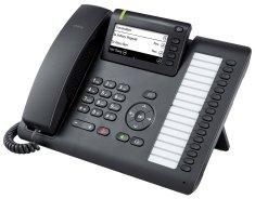 Siemens  OpenScape CP400 - namizni telefon, črn