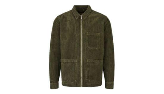 By Garment Makers Bunda The Organic Corduroy Jacket farba zelená   veľkosť M