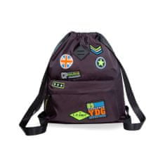 CoolPack Batoh Urban Badges black