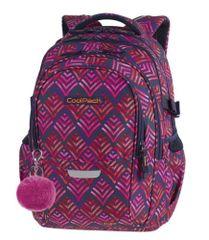CoolPack Školní batoh Factor Hawaii pink