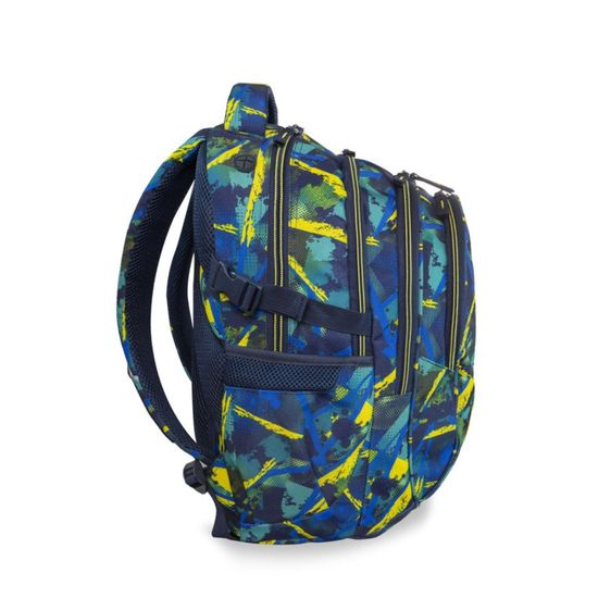 CoolPack Školní batoh Factor Abstract yellow