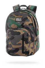 CoolPack Školní batoh Discovery Camo classic