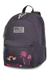 CoolPack Školní batoh Hippie Sparkling badges grey
