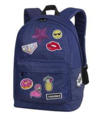 CoolPack Školní batoh Cross Badges girls denim