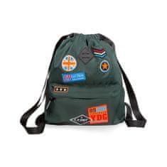 CoolPack Batoh Urban Badges green