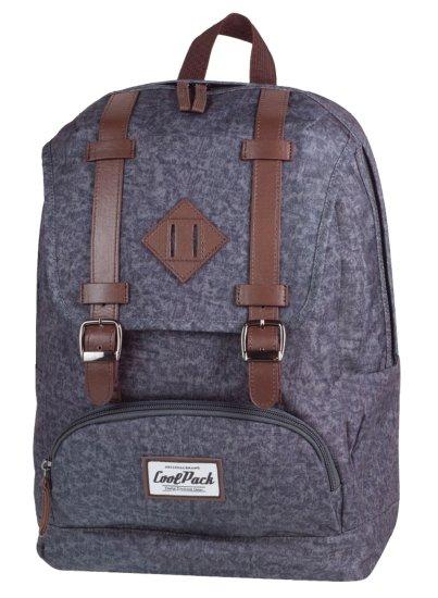 CoolPack Školní batoh City grey