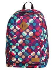 CoolPack Školní batoh Cross Mosaic dots