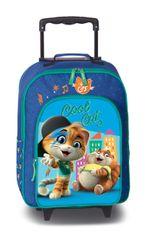 FABRIZIO Detský kufrík 44 Cats - Cool Cat