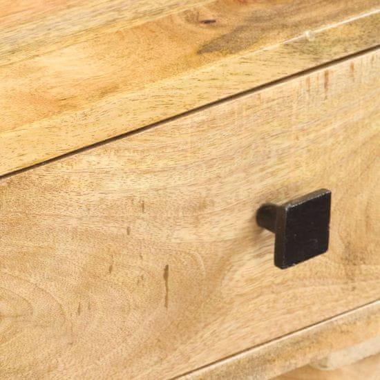 shumee Stolík konzoly 115x35x76 cm masívne mangové drevo
