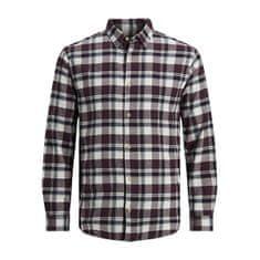 Jack&Jones JJPLAIN moška srajca 12188940 Port Royale (Velikost S)