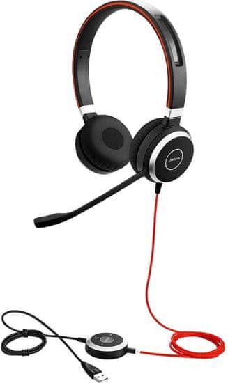 Jabra Evolve 40 slušalke z mikrofonom
