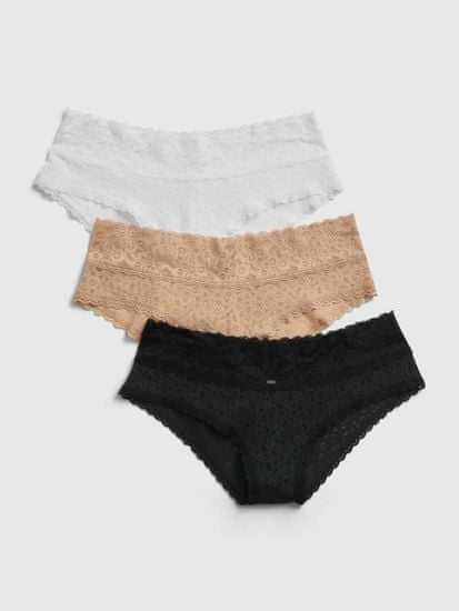 Gap Nohavičky lace cheeky, 3ks