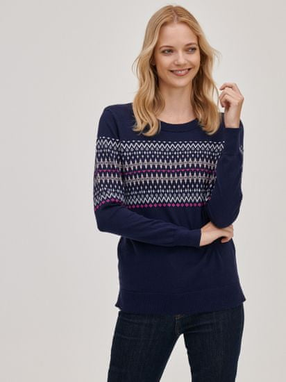Gap Pletený svetr se vzorem