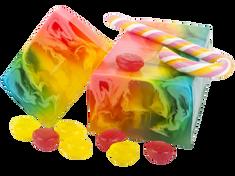 L´Cosmetics Prírodné ručne robené mydlo bez SLS - Bubble gum 100g +/-6%
